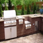 Outdoor Kitchen Plans in White Stake 1