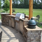 Outdoor Kitchen Plans in Acton Bridge 1