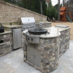Outside Kitchen Ideas in Trafford Park 1
