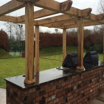 Outside Kitchen Ideas in Trafford Park 3