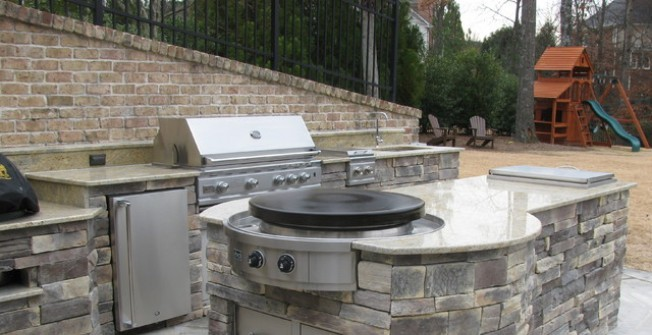 Outdoor Kitchen Designs in Aston juxta Mondrum